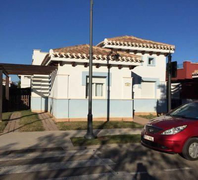 YMS37: Villa for rent in Mar Menor Golf Resort