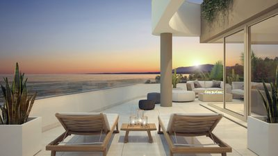 Ref:YMS106 Apartment For Sale in La Cala de Mijas