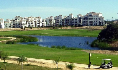 YMS122: Apartment in Hacienda Riquelme Golf Resort