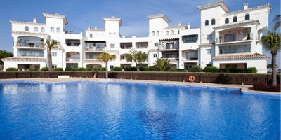 YMS123: Apartment in Hacienda Riquelme Golf Resort