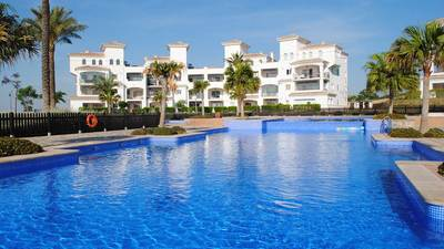Ref:YMS196 Apartment For Sale in Hacienda Riquelme Golf Resort