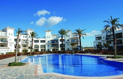 YMS201: Apartment in Hacienda Riquelme Golf Resort