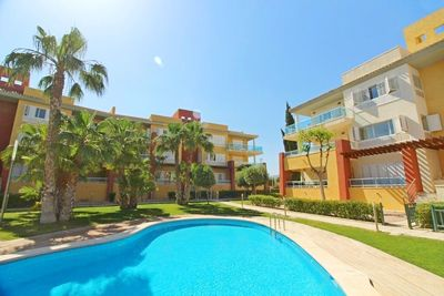 Ref:YMS258 Apartment For Sale in Hacienda del Alamo Golf Resort