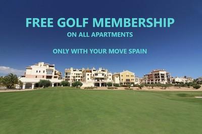 YMS271: Apartment for sale in Hacienda del Alamo Golf Resort