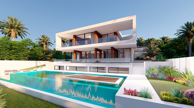 Ref:YMS378 Villa For Sale in Estepona