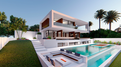 YMS378: Villa for sale in Estepona
