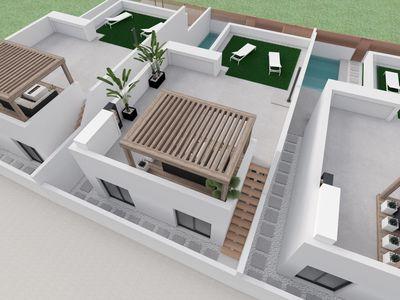 YMS382: Villa for sale in Santiago de la Ribera