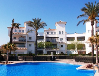 YMS412: Apartment in Hacienda Riquelme Golf Resort