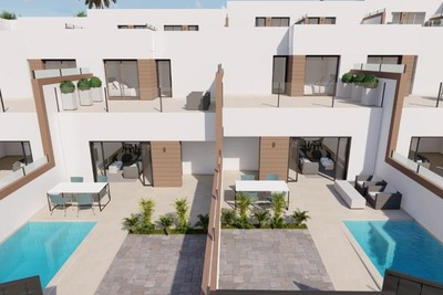 YMS494: Townhouse for sale in Benijófar
