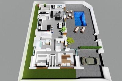 YMS498: Villa for sale in Benijófar