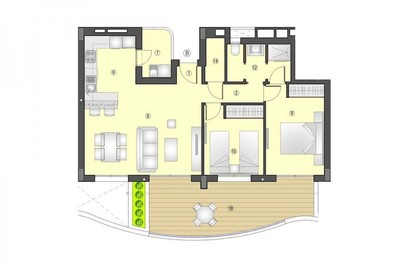 YMS504: Apartment for sale in Los Arenales del Sol