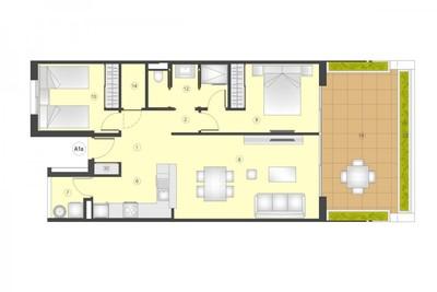 YMS505: Apartment for sale in Playa Flamenca