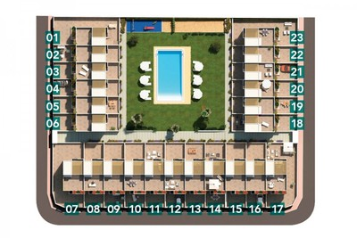 YMS532: Townhouse for sale in Torrevieja