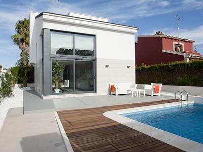 YMS555: Villa for sale in Santiago de la Ribera