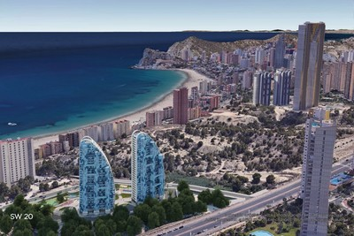 Ref:YMS576 Apartment For Sale in Benidorm
