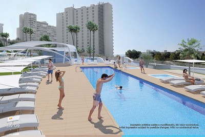 YMS578: Apartment for sale in Benidorm