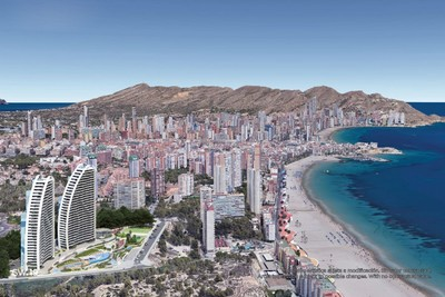 Ref:YMS578 Apartment For Sale in Benidorm