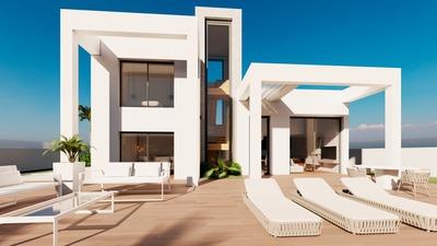 YMS692: Villa in Finestrat